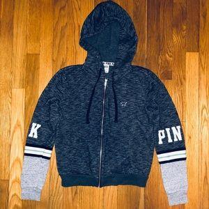 VS Pink Zip Hoodie S